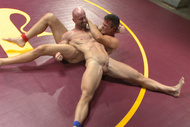 Naked Kombat : Mitch Vaughn vs. BJ Adia