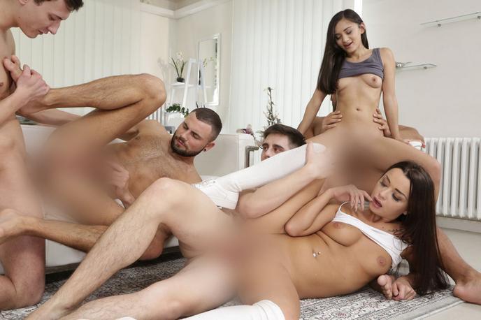 bi orgies pornó